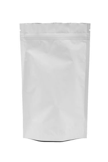 Белый Дой-пак с замком Zip-Lock, 100 гр. (130*200 мм.) - 1