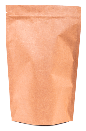 Крафт пакет Дой-пак с замком Zip-Lock, 100 гр. (130*200 мм.) - 1