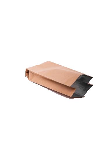 Крафт бурый пакет с Центральным швом, Клапан, кофейный 500 гр. (90*320 мм.) - 2