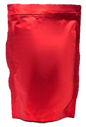 Красный Дой-пак с замком Zip-Lock, 100 гр. (130*200 мм.) - 1