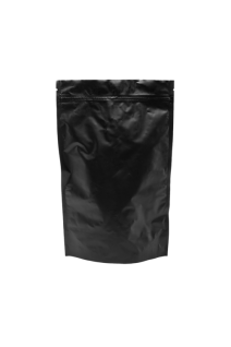 Черный Дой-пак с замком Zip-Lock, 500 гр. (180*280 мм.)