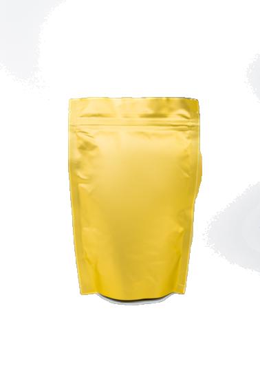 Золотой Дой-пак с замком Zip-Lock, 250 гр. (140*240 мм.) - 1
