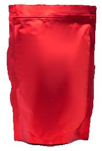 Красный Дой-пак с замком Zip-Lock, 100 гр. (130*200 мм.)