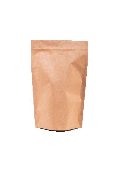 Крафт пакет Дой-пак с замком Zip-Lock, 250 гр. (140*240 мм.) - 1