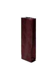 Коричневый пакет с Центральным швом, Клапан, кофейный 250 гр. (80*250 мм.)