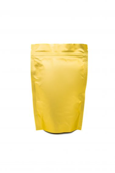 Золотой Дой-пак с замком Zip-Lock, 100 гр. (130*200 мм.) - 1