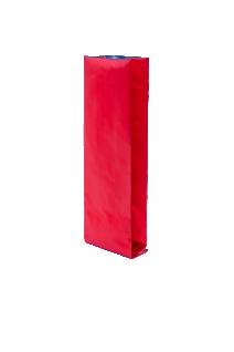 Красный пакет с Центральным швом, Клапан, кофейный 250 гр. (80*250 мм.)